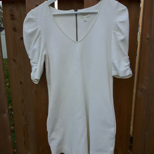 Deletta Tunic Dress S 3/4 Sleeves with buttons